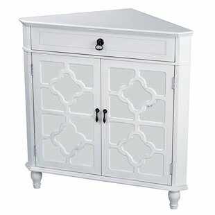 Knutsford 2 Door Corner Accent Cabinet by Highland Dunes
