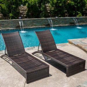 Acrion Chaise Lounge (Set Of 2)