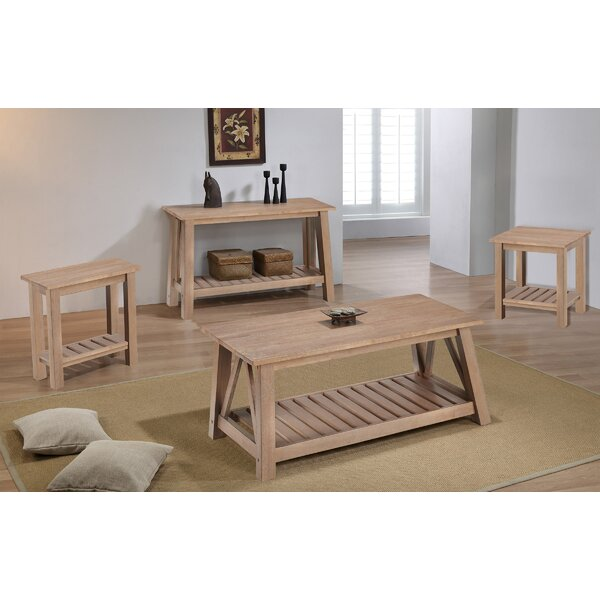 4 Piece Coffee Table Sets Wayfair
