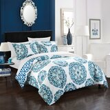 Wisby 3 Piece Reversible Duvet Cover Set