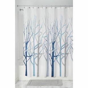Reviews Forest Shower Curtain ByInterDesign