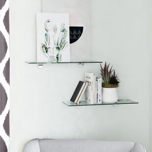 Clear & Gold Wall & Display Shelves You\'ll Love in 2019 ...