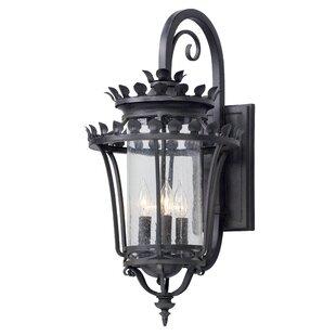 Colfax 4-Light Outdoor Wall Lantern by Fl..