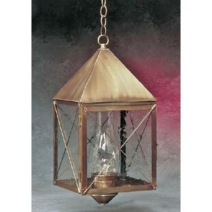 Best Deals Michaela 1-Light Outdoor Hanging Lantern By Longshore Tides