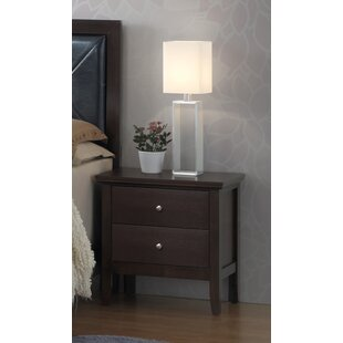Arlington 2 Drawer Nightstand