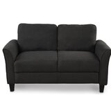 Umair Cotton 54 Flared Arm Loveseat by Red Barrel Studio®