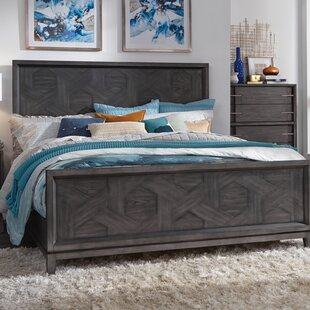 17 Stories Diehl Panel Bed
