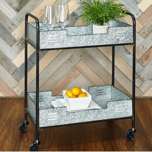 Portland Iron Bar Cart by Williston Forge