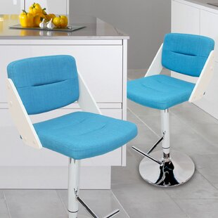 Cassette Adjustable Height Swivel Bar Stool
