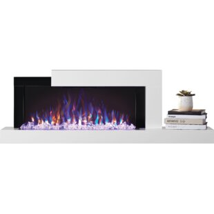 Stylus Wall Mounted Electric Fireplace by Napoleon