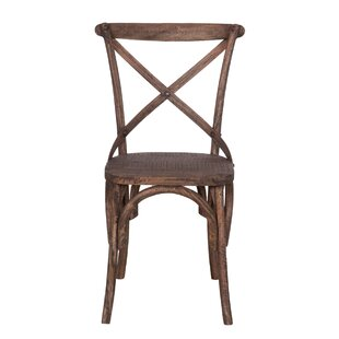 August Grove Moree Solid Wood Dining Chair