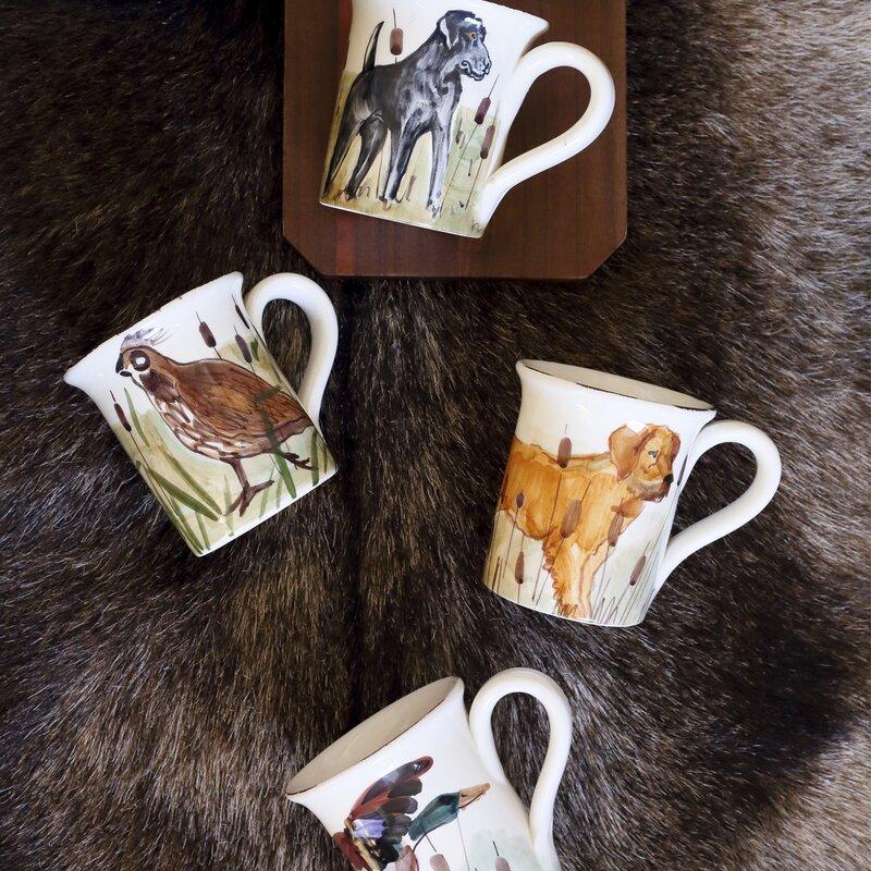Vietri Wildlife Coffee Mug Set Wayfair