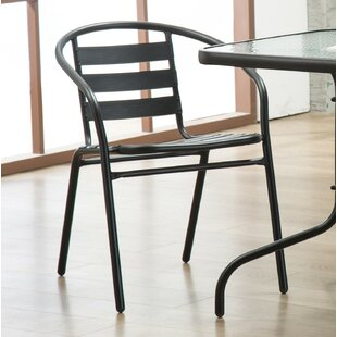 Pineville Stack Patio Dining Chair (Set of 4) by Zipcode Design