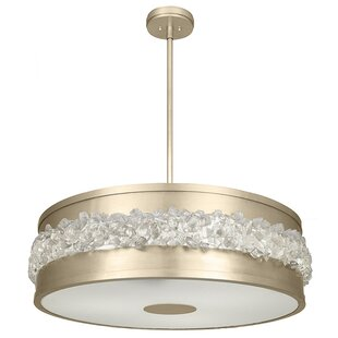 Fine Art Lamps Arctic Halo 3-Light Pendant