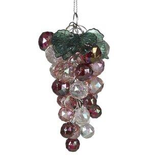 iridescent beaded grapes ornament - Purple Christmas Tree Ornaments