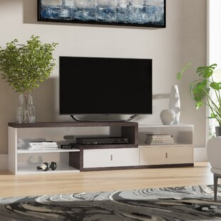 Best Reviews Lippincott TV Stand for TVs up to 55 by Wrought Studio Reviews (2019) & Buyer's Guide