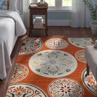 Niagara Orange/Beige Outdoor Area Rug