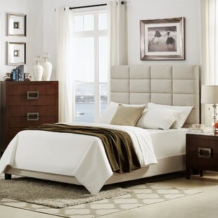 Brayden Studio Rose Upholstered Platform Bed