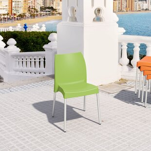 Zipcode Design Addie Stacking Patio Dining Chair (Set of 2)