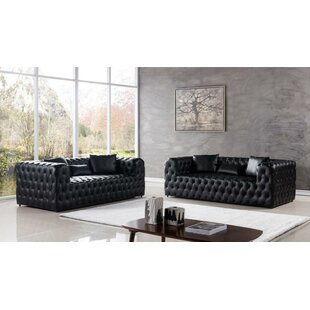 Koerner 2 Piece Standard Living Room Set by Orren Ellis