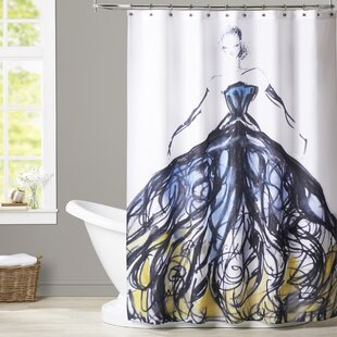 House of Hampton Goodrich Evening at the Met Shower Curtain