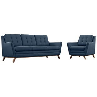 Buying Binder 2 Piece Living Room Set by George Oliver Reviews (2019) & Buyer's Guide
