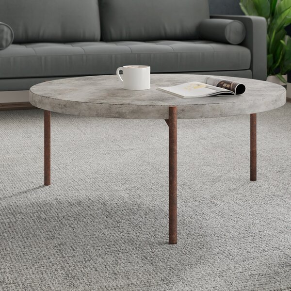 Modern Contemporary Cement Concrete Coffee Tables Allmodern