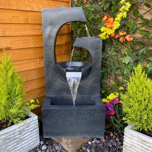 Madiha Resin Water Feature With Light By Sol 72 Outdoor
