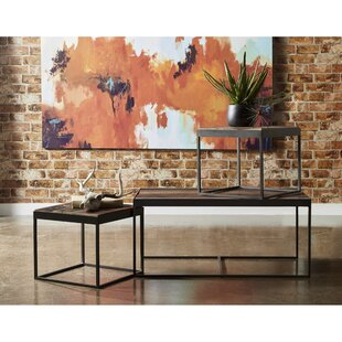 Crowson 3 Piece Coffee Table Set