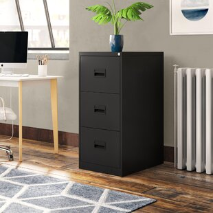Office 3 Drawer Filing Cabinet By Symple Stuff