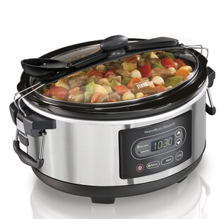 5-Qt. Stay or Go Programmable Stay or Go Slow Cooker