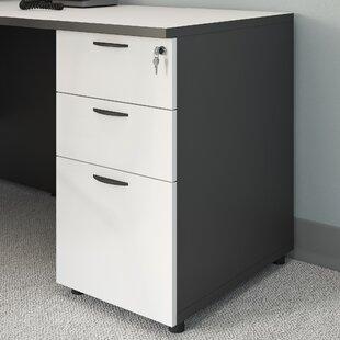 Symple Stuff 3 Drawer Desk Height Filing ..