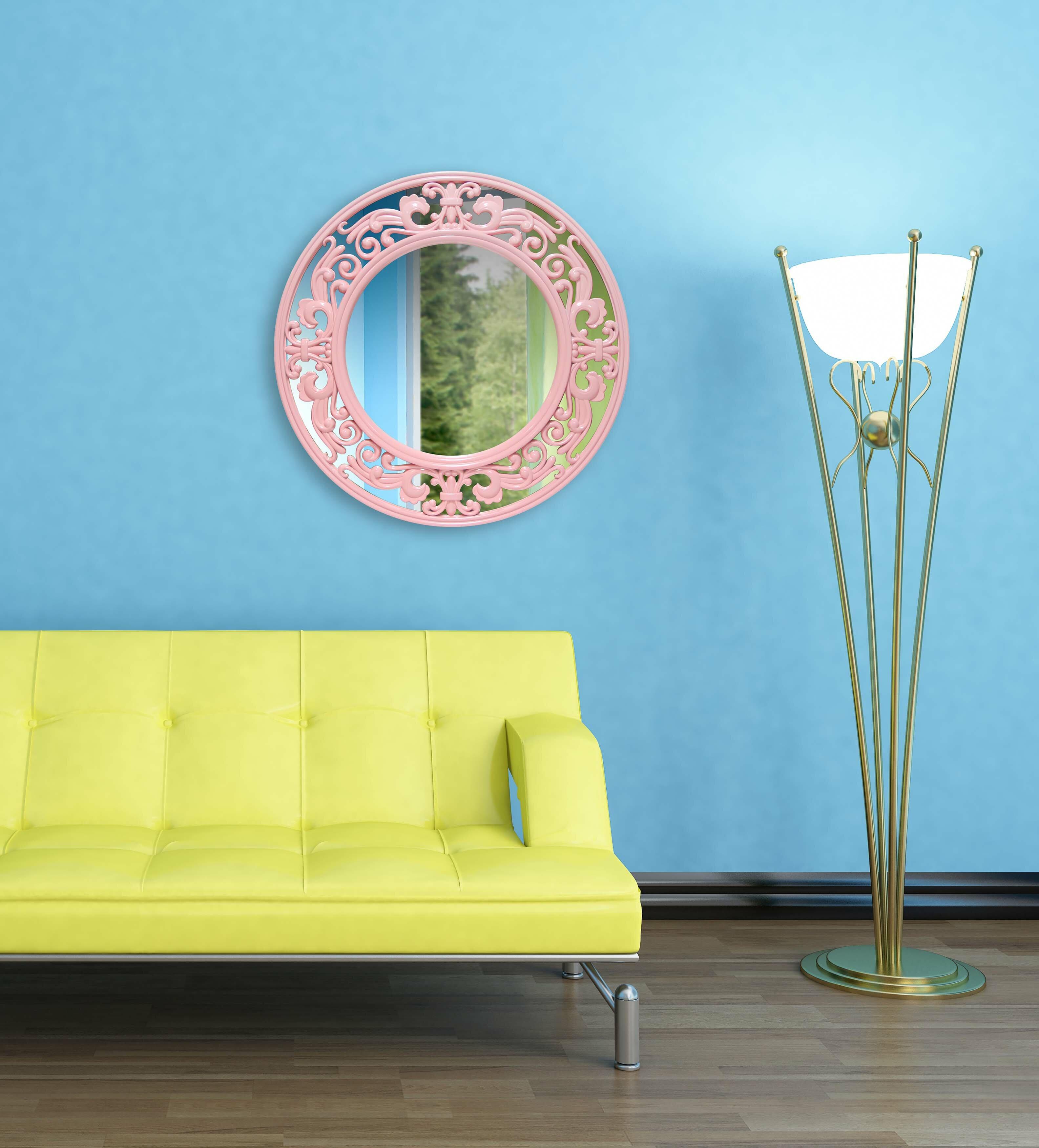 House Of Hampton Huguetta Traditional Accent Mirror Reviews Wayfair