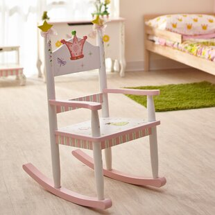 Affordable Princess and Frog Kids Rocking Chair ByFantasy Fields