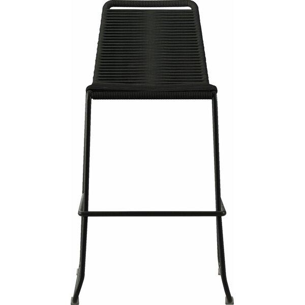 Tremendous Modern Contemporary Woven Counter Stool Allmodern Spiritservingveterans Wood Chair Design Ideas Spiritservingveteransorg