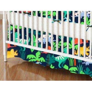 Reviews Dinosaurs Crib Skirt BySheetworld