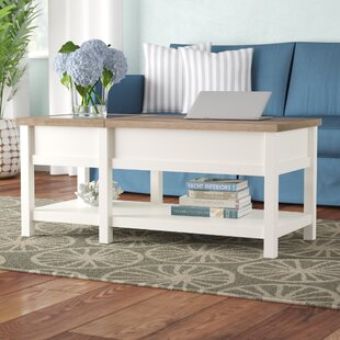 Myrasol Lift Top Coffee Table with Storage Highland Dunes