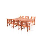 Amabel Patio 7 Piece Dining Set