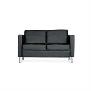 Citi Leather Sofa by Global Total Office Modern