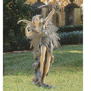 Attirant Rhiannon The Archer Garden Fairy Statue