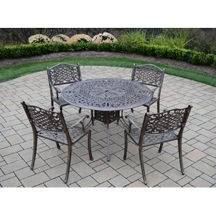 Oakland Living Capitol 5 Piece Dining Set