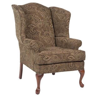 Read Reviews Chacko Wingback Chair by Charlton Home Reviews (2019) & Buyer's Guide