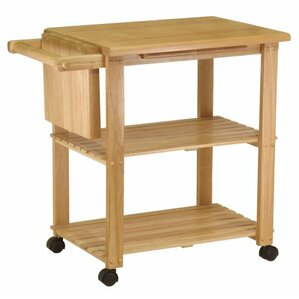 Kitchen Cart with Cutting Board by Luxury Home