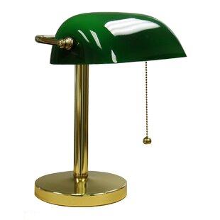 Zanesfield 12.5 Bankers Lamp