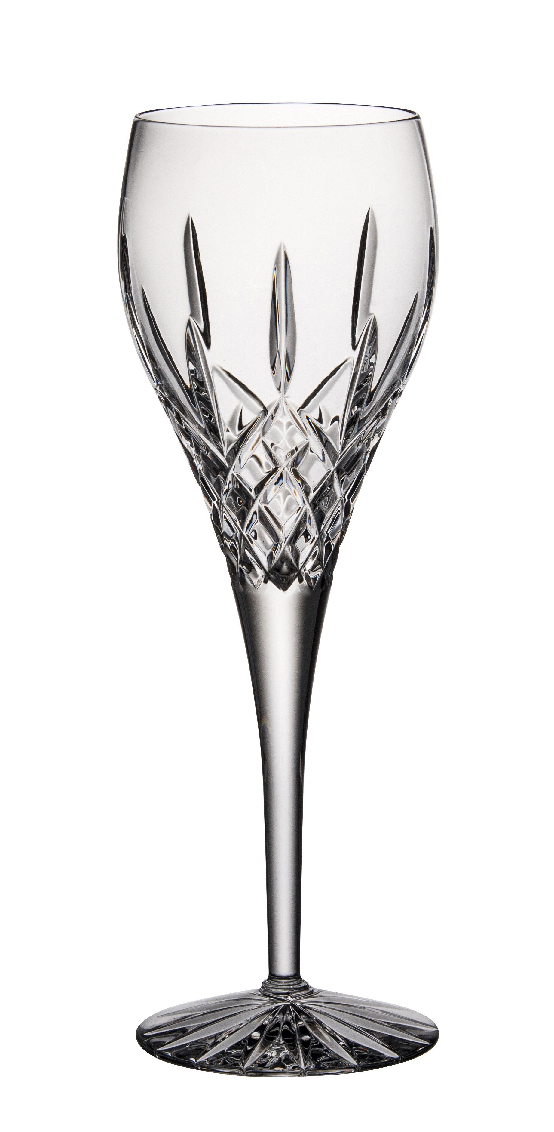 Astoria Grand Mcnear 13 Oz Crystal White Wine Glass Wayfair