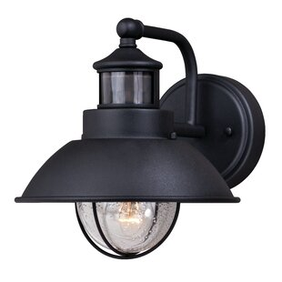 Archibald Dualux© LED Outdoor Barn Light with Motion Sensor By Beachcrest Home Outdoor Lighting