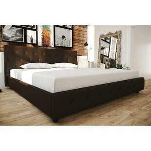 Salina Upholstered Platform Bed by Andover Mills
