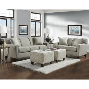Latitude Run Holthaus 4 Piece Living Room Set