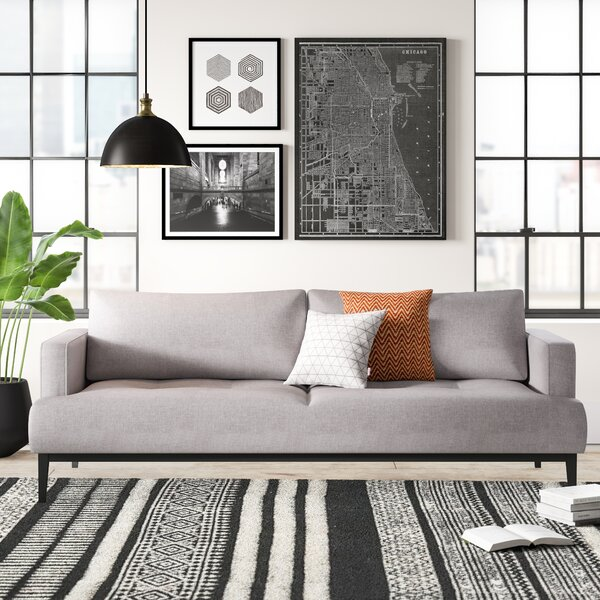 Modern Contemporary Cabell Full Sleeper Sofa Allmodern
