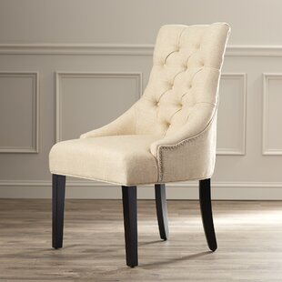 Lamb Tufted Nailhead Side Chair (Set of 2..